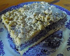 Silesian poppy seed cake, a great recipe from the cake category. Ratings: Average: Ø Silesian poppy seed cake, a great recipe from the cake category. Easy Baking Recipes, Easy Cake Recipes, Sweet Recipes, Cookie Recipes, Poppy Seed Cake, Pudding Desserts, Food Cakes, Holiday Recipes, Nutella
