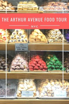 Bronx, New York, USA, North America. Arthur Avenue Food Tour is a tasting tour through the NYC Bronx's Little Italy. Taste authentic Italian cuisine, baked goods, cheese, sausage, and more!