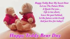 Happy Teddy Day 2014 Best Wallpapers, Quotes, SMS and Greetings.