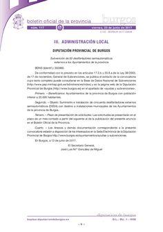 Subvención de 50 desfibriladores semiautomáticos externos a los Ayuntamientos de la provincia