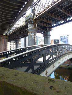 Castlefield,Manchester. Canal bridges