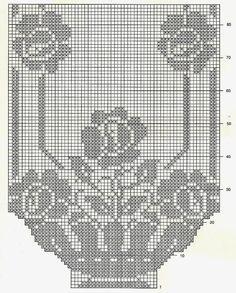 TIĞ İŞLERİ ÖRGÜLER: MASA ÖRTÜSÜ ŞÖMEN FİSKOS DANTELLERİ ÖRNEKLERİ Filet Crochet Charts, Crochet Doily Patterns, Crochet Cross, Hand Embroidery Patterns, Crochet Motif, Crochet Doilies, Crochet Stitches, Cross Stitch Patterns, Crochet Curtains