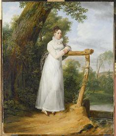 Horace Vernet, Madame Philippe Lenoir, née Jousseran, 1814