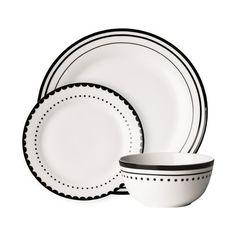 12-tlg. Tafelservice Ivanhoe aus Porzellan f Jetzt bestellen unter: https://moebel.ladendirekt.de/kueche-und-esszimmer/besteck-und-geschirr/geschirr/?uid=13b013cb-2752-5224-a8d6-2e33df238715&utm_source=pinterest&utm_medium=pin&utm_campaign=boards #geschirr #kueche #sets #dinnerware #esszimmer #besteck Bild Quelle: wayfair.de
