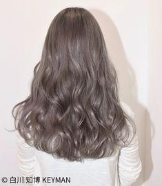 Hairstyles Wavy Hair Long Blondes 46 Ideas For 2019 Ash Hair, Brown Blonde Hair, Permed Hairstyles, Pretty Hairstyles, Girl Hairstyles, Ulzzang, Mode Emo, Korean Hair Color, Aesthetic Hair