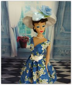 Sunday Morning for Barbie vintage repro or by Rosedollhouse