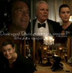 Ziva is a weapon  And we love her for it, along with many other reasons.