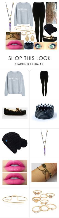 """""""Scarlett Gets Asked Out"""" by aussie-wannabe ❤ liked on Polyvore featuring MANGO, Miss Selfridge, UGG Australia, Keds, Jamie Joseph, Accessorize and Mudd"""