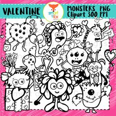Monster Clipart, Fox Design, Love Letters, School Projects, Love Is All, Project Ideas, Art Pieces, Backgrounds, Commercial