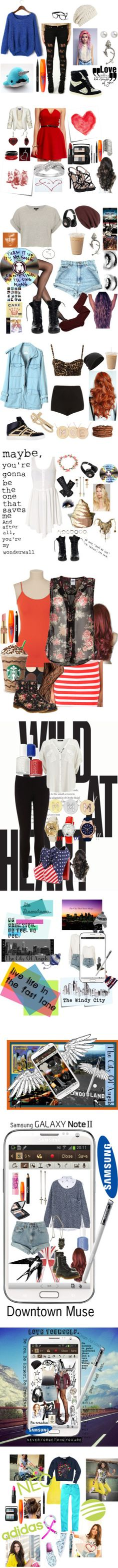 """I'm Just A Teen 2"" by ninjababe1999 on Polyvore"