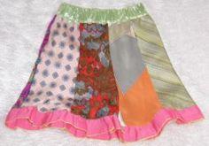 necktie crafts | Necktie Skirt | Recycled Crafts | CraftGossip.com