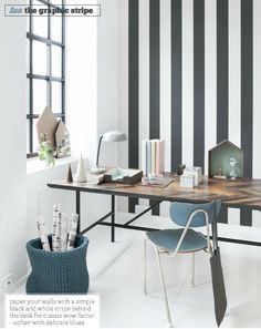 Graphic stripe home office | Ferm Living