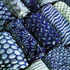 Japanise Indigo Fabrics