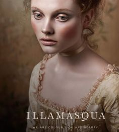 Illamasqua makeup campaign