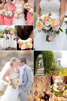 Wedding Inspiration - Real Badgley Mischka Bride - Garden Wedding