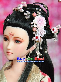 Chinese Hairstyle Glamorous Chinese Hair  Ancient Chinese Hair Accessories And Wig For Women