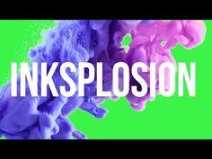 Fumaça Cartoon / Smoke color Explosions Green Screen - YouTube