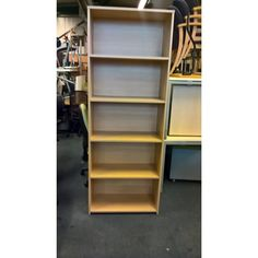 Second Hand Oak Wood Bookcase | NEXT DAY DELIVERY | Ideal for saving floor space in the office!