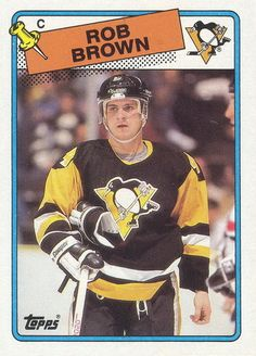 Rob Brown - Pittsburgh Penguins