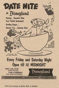 an ad for 'disney date night.' PRECIOUS