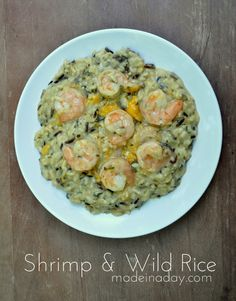 Shrimp Wild Rice Cas