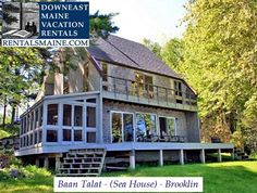 See 1 photo from visitors to Downeast Maine Vacation Rentals. Maine Vacation Rentals, Blue Hill, Coastal Cottage, Real Estate, Cabin, Mansions, House Styles, Places, Home