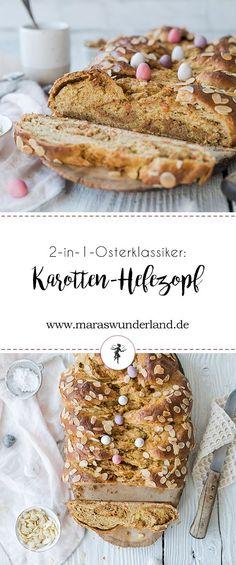 2-in-1-Osterklassiker: Karotten-Hefezopf