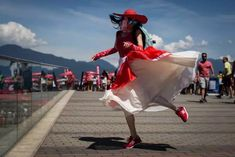 IN PHOTOS: How Canada Day 2019 was celebrated from coast to coast John Tory, Centennial Park, Patriotic Outfit, Woman Smile, Justin Trudeau, Canada Day, Cn Tower, Montreal, Vancouver