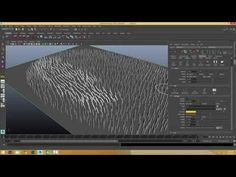 XGen (Autodesk Maya) - Part 11 - XGen Grooming Tab - YouTube