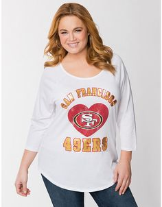 San Francisco 49ers Tee by Lane Bryant | Lane Bryant