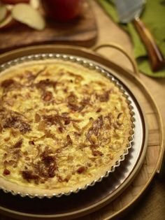 This caramelized onion tart is assembled much like a quiche, so the components should look familiar and it's a useful holiday treat because the tart dough can be made weeks ahead and frozen -- PCH Frontpage