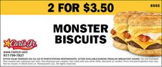 Check out offers from Carls Jr. using GeoQpons app on your phone. Visit www.geoqpons.com