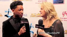 Jacob Latimore, Backstage Movieguide® Awards Gifting Suite (+playlist)