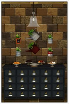 Eco-Café - Part 2 by Sandy at Around the Sims - Sims 3 Finds