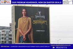Global Advertisers showcases Tanishq's Diwali offering - Shubham on hoardings, starring Deepika Padukone.-----> http://globaladvertisers-outdooradvertisers.blogspot.in/2016/10/global-advertisers-puts-up-huge-display_26.html
