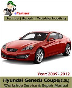 download hyundai xg250 xg300 xg350 service repair manual 2000 2005 rh pinterest com 2015 Hyundai Genesis Coupe 2015 Hyundai Genesis Coupe