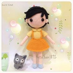 Amigurumi doll. (Inspiration).