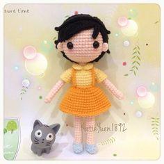 Amigurumi doll. (Inspiration).