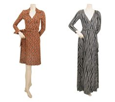 Diane von furstenberg wickelkleid second hand