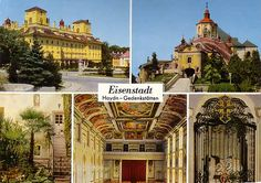 Eszterhazy Palace Eisenstadt (Schloss Eszterhazy) is located in Eisenstadt, Burgenland, Austria. The origin of the cultural landmark can be traced back to the century as a Gothic fortress. Moon Shine, Austria Travel, Salzburg, The Other Side, Daffodils, Homeland, Ancestry, Dream Big, Hungary