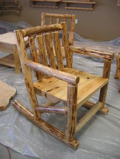 Log Furniture | Here's some log furniture - Woodworking Talk - Woodworkers Forum