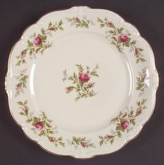 Rosenthal - Continental, Antoinette (Pompadour Shape) - Page 1 Antique Dishes, Antique China, China Plates, Vegetable Bowl, Vintage Plates, China Patterns, Cake Plates, China Dinnerware, Dinner Plates