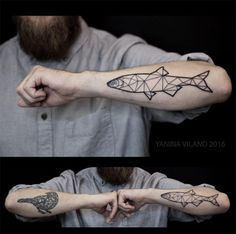 Yanina Viland tattoo