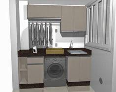 modelo armário área de serviço