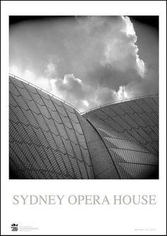 SYDNEY OPERA HOUSE    Silk high gloss photography paper