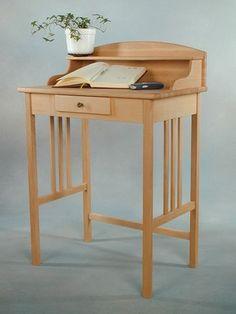 Beistelltische - Sekretär in Buche - einfach schön! - ein Designerstück von massivholzmanufaktur bei DaWanda