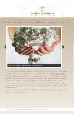 Finalmente hoje lanço meu site novo! Organizado e fácil de ler,foi assim que Alexia Figueiredo pensou ao construir meu site. Obrigada. www.atelierandreafigueiredo.com