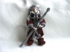 Oin Dwarf Crochet Doll The Hobbit Tolkien by AmayArt on Etsy, $65.00