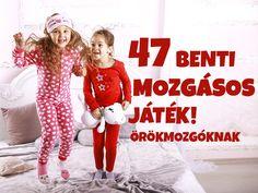 47 benti mozgásos játék gyerekeknek: A legjobb játékok otthonra, ha a gyerek nem bír egy helyben megülni - Szülők Lapja - Szülők lapja Pe Activities, Indoor Activities, Motor Skills, Baby Kids, Games, Fitness, Creative, Sports, Parenting