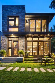 Modern exteriors exterior modern with windows flat roof windows